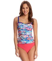 Profile by Gottex Madame Butterfly Tankini Top (D-Cup)