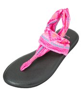 Sanuk Girls' Yoga Sling Burst Prints Sandal
