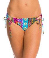 Hobie Sun Daze Stripe Adjustable Hipster Bikini Bottom