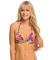 Hobie Peace, Love, and Paisley Twist Push Up Bikini Top
