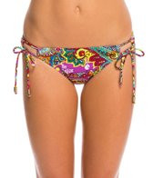 Hobie Peace, Love, and Paisley Adjustable Hipster Bikini Bottom