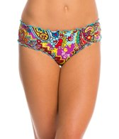Hobie Peace, Love, and Paisley Scalloped Hipster Bottom