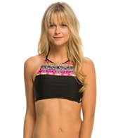 Hobie What's Knot To Like? High Neck Crop Bikini Top