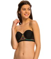 Hobie A Stitch In Time Underwire Bandeau Bikini Top