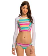 Hobie Salt Air Stripe L/S Rash Guard