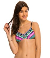 Hobie Tribal And True Bralette Bikini Top