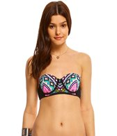 Hobie Tribal And True Underwire Bandeau Bikini Top