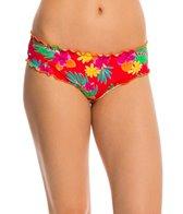 Hobie Tropical Locales Scalloped Hipster Bikini Bottom