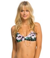 Bikini Lab Swimwear Tropic Full Of Sunshine Bralette Bikini Top
