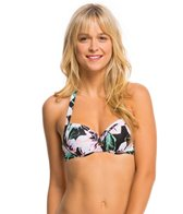 Bikini Lab Swimwear Tropic Full Of Sunshine Push Up Underwire Bikini Top