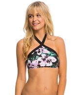 Bikini Lab Swimwear Tropic Full Of Sunshine High Neck Bikini Top