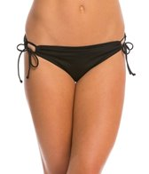 Bikini Lab Swimwear Solid Adjustable Hipster Bikini Bottom