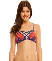 Bikini Lab Swimwear Girls Just Wanna Have Sun Bralette Bikini Top