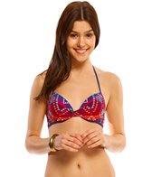 Bikini Lab Swimwear Girls Just Wanna Have Sun Underwire Push-Up Bikini Top