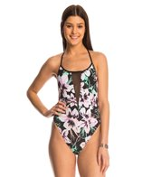 Bikini Lab Tropic Full Of Sunshine Deep V One Piece Swimsuit