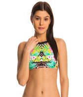 Bikini Lab Swimwear It Takes Hue High Neck Bikini Top
