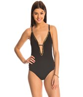 Bikini Lab Weaving On A Jet Plane One Piece Swimsuit