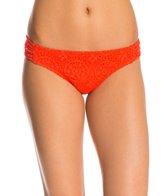 Bikini Lab Swimwear Desert Rows Scrunch Hipster Bikini Bottom