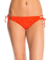 Bikini Lab Swimwear Pedal To The Medal-lion Adjustable Hipster Bikini Bottom