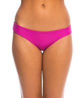 Sofia Solid Grape Buzios Brazilian Bikini Bottom