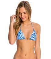 Sofia La Jolla Blue Triangle Bikini Top