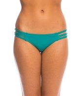 O'Neill Salt Water Solids Knotted Tab Side Bikini Bottom