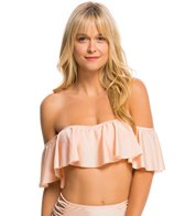 O'Neill Lux Solids Off The Shoulder Bikini Top