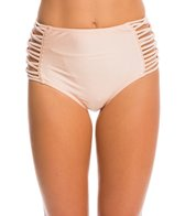 O'Neill Lux Solids High Waist Bikini Bottom