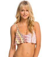 O'Neill Bahia Ruffle Crop Bikini Top