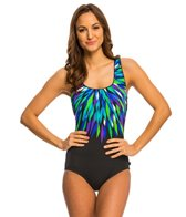 Reebok Star Burst One Piece Swimsuit