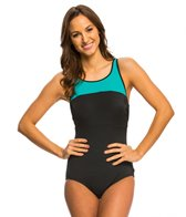 Reebok Set the Pace One Piece Swimsuit