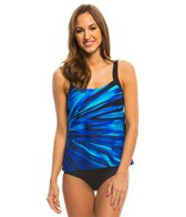 Active Spirit Coastal Blues Tankini Top
