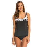 Active Spirit Ride the Wave Tankini Top