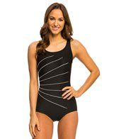 Active Spirit S.P.A. Light Rays High Neck One Piece Swimsuit