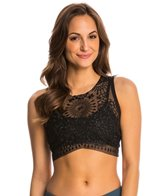 Free People Lakota Embroidered Bralette