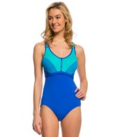 Coco Reef Swimwear Barbados Pure Racerback One Piece Swimsuit (C/D/DD Cup)