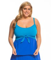 Coco Reef Plus Size Barbados Perfect Fit Tankini Top (C/D/DD Cup)