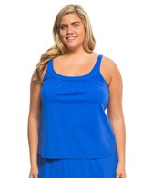 Coco Reef Plus Size Master Classic Ultra Fit Tankini Top (C/D/DD Cup)