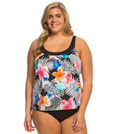 Coco Reef Plus Size Turks and Caicos Ultra Fit Tankini Top (C/D/DD Cup)