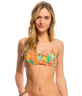 Billabong Desert Ties Halter Reversible Crossback Bikini Top
