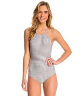 Billabong Desert Ties Halter One Piece Swimsuit