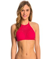 Billabong Hippie Hooray High Neck Crop Bikini Top