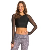 Jala Clothing Mesh Yoga Crop Top