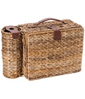 SunnyLife Lennox Picnic Basket for 4