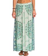 Billabong Silver Bloom Maxi Skirt