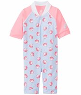 Platypus Girls' UPF 50+ Seashells Sunsuit (6mos-6yrs)
