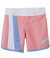Platypus Girls' UPF 50+ Seashells Long Boardshort (18mos-8yrs)