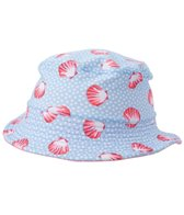 Platypus Girls' UPF 50+ Seashells Bucket Hat