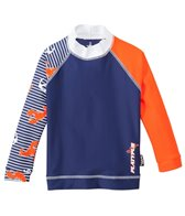 Platypus Boys' UPF 50+ Lobster Catch L/S Rash Guard (18mos-8yrs)