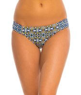 Tommy Bahama Tile Medallion Side Shirred Hipster Bikini Bottom